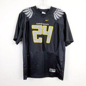 Nike Oregon Ducks Alt Black Football Jersey #24 XL